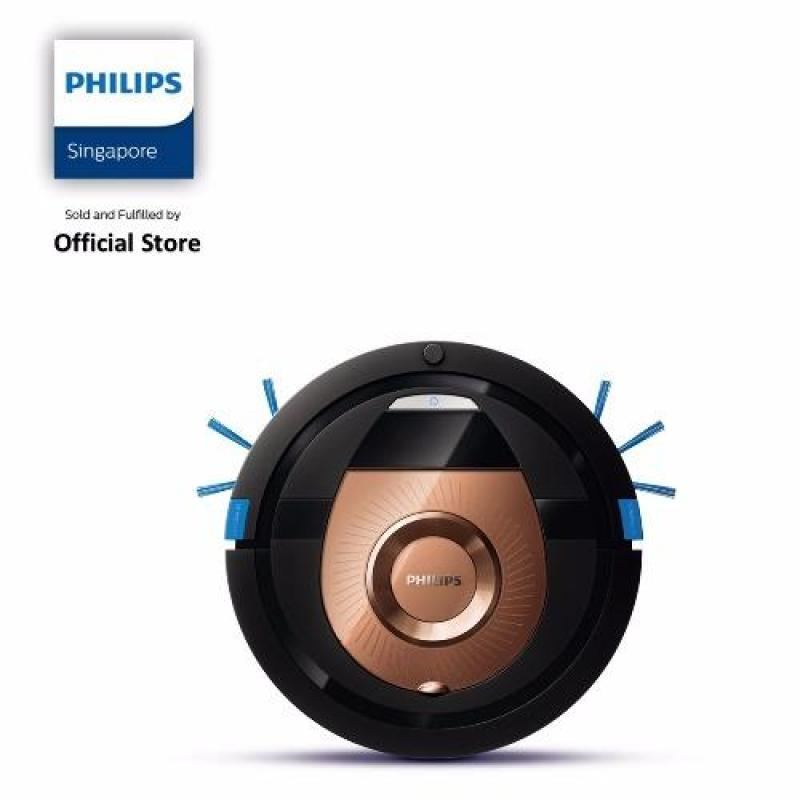 Free 2 Pcs Floor Mats (while Stock Last) with Philips SmartPro Compact Robot Vacuum Cleaner - FC8776/01 Singapore