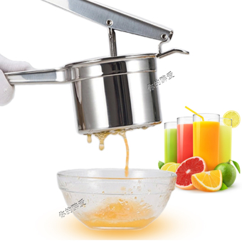 Harga High-grade 304 stainless steel manual juicer potato mud mashed ispressure potato is press machine squeeze fruit lemon clip