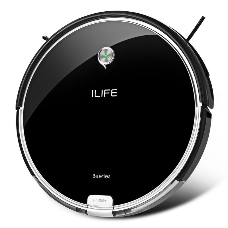ILIFE A6 Smart Robotic Vacuum Cleaner Cordless Sweeping Cleaning Machine Self-recharging Robot - intl Singapore