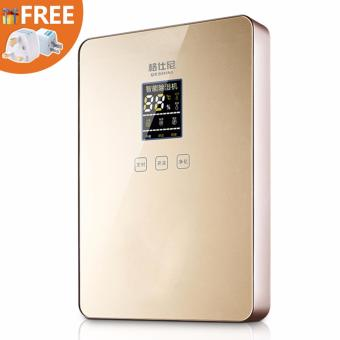 Harga Purified Air Mute Led Display Air purification Dehumidifier (Gold) – intl