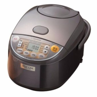 Harga Zojirushi 1.0L Micom Fuzzy Logic Rice Cooker/Warmer NSYSQ10XJ (Stainless Brown)