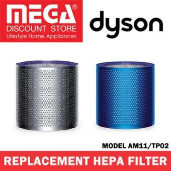 Harga Dyson Replacement Hepa Filter For Model Am11/Tp02 Blue