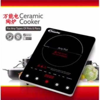 Harga PowerPac PPIC880 2000W Ceramic Cooker with Senior Touch