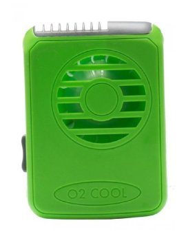 Harga O2COOL Deluxe Necklace Fan (Green)