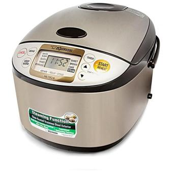Harga Zojirushi 1.8L Micom Fuzzy Logic Rice Cooker/Warmer NSTSQ18XJ (Stainless Brown)