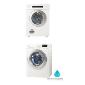 electrolux dryer 6 5kg. electrolux ewf12844 8kg inverter washer + edv7552 7.5kg sensor dryer bundle promotion price in singapore 6 5kg u