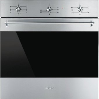 Harga Smeg 60cm 70L Electric Ventilated Oven SF6381X