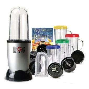 Harga The Amazing 21pcs Multipurpose Magic Bullet Food Processor - intl