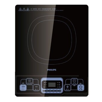Harga Philips Induction Cooker with 6 power controlModel: HD4921 PSB Safety