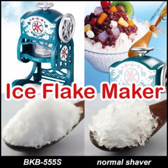 Bokuk Korea BKB-555S Classic Snow Cone ice Shaved Grinder Machine - intl