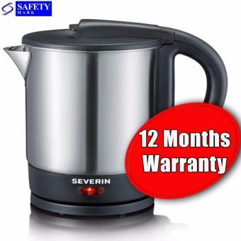 Harga Severin Kettle WK3362. Cordless Type. Safety Mark Approved.(Silver)