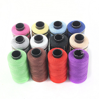 Harga 12pcs Spools Sewing Thread Sewing Kit Yarn Coils Strings Sewing Thread - intl