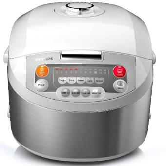 Harga Philips HD3038 Viva Collection Fuzzy Logic Rice Cooker 1.8L
