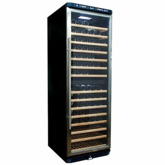 Harga Europace EWC 6155S Dual Zone Stainless Steel Door Frame Wine Cooler (155 Bottles)