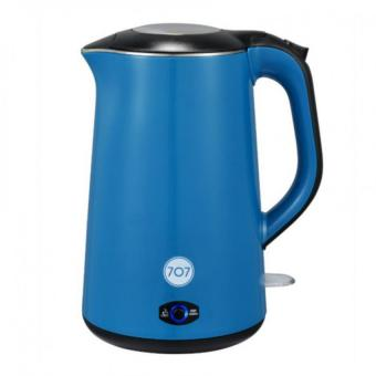 Harga 707 KED151 Stainless Steel Electric Kettle 1.5L BLUE