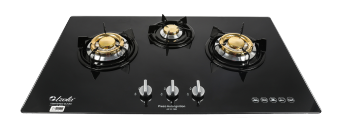 Harga IZOLA Tempered Glass Built-in Hob S-388 LPG (Black)