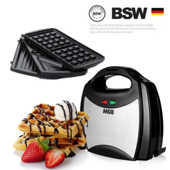 Harga BSW 3in1 Sandwich Maker BS-1407-SM Waffle Bread Maker Home Baking Tools Toaster
