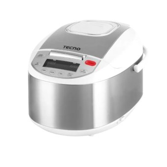 Harga Tecno TRC 18MIC 1.8L Fuzzy Logic Automatic Rice Cooker (Grey). PSB Safety Mark Approved .