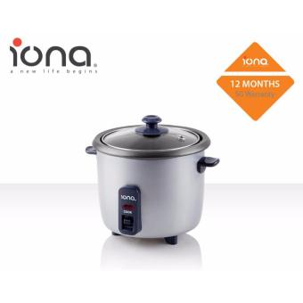 Harga Iona 0.3L Rice Cooker - GLRC03 (1 Year Warranty)