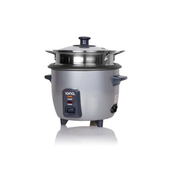 Harga IONA GLRC061 Rice Cooker with Steamer 0.6L