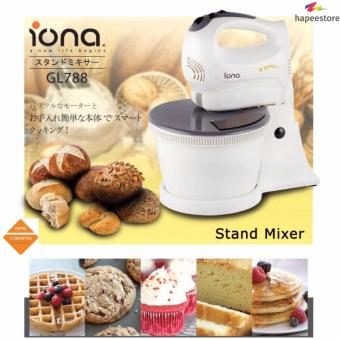 Harga Iona Stand Mixer with Bowl - GL788 (1 Year Warranty)