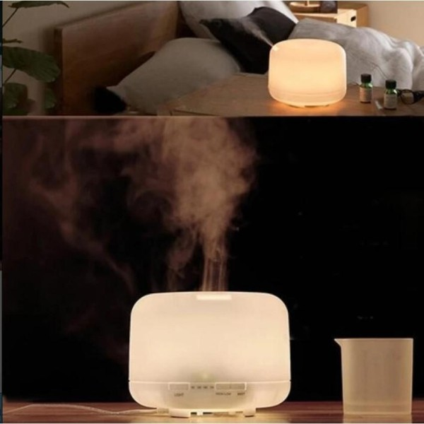 JOY 300ml Oil Aroma Diffuser Ultrasonic Mist Humidifier LED Color Changing Light   - intl Singapore