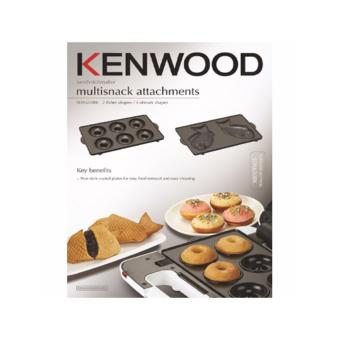 KENWOOD SM650 SANDWICH MAKER ATTACHMENT - FISH PLATES - DONUTPLATES, SDA650BK