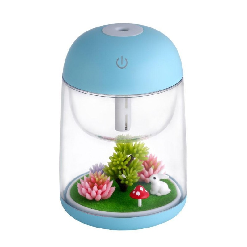 leegoal Micro Landscapeoil Oil Diffuser Cool Mist Humidifier, House Room Mini Air Humidifiers For Baby Bedroom - Various Night Lights - intl Singapore