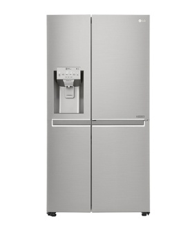 LG GS-L6012PZ Side-by-Side Refrigerator 601L (Platinum Silver)