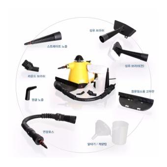 Mediheim Korean Best-Selling Multi Functional Handheld Powerful Hot Steam Cleaner. MH-900 (Yellowblack) - intl - 2