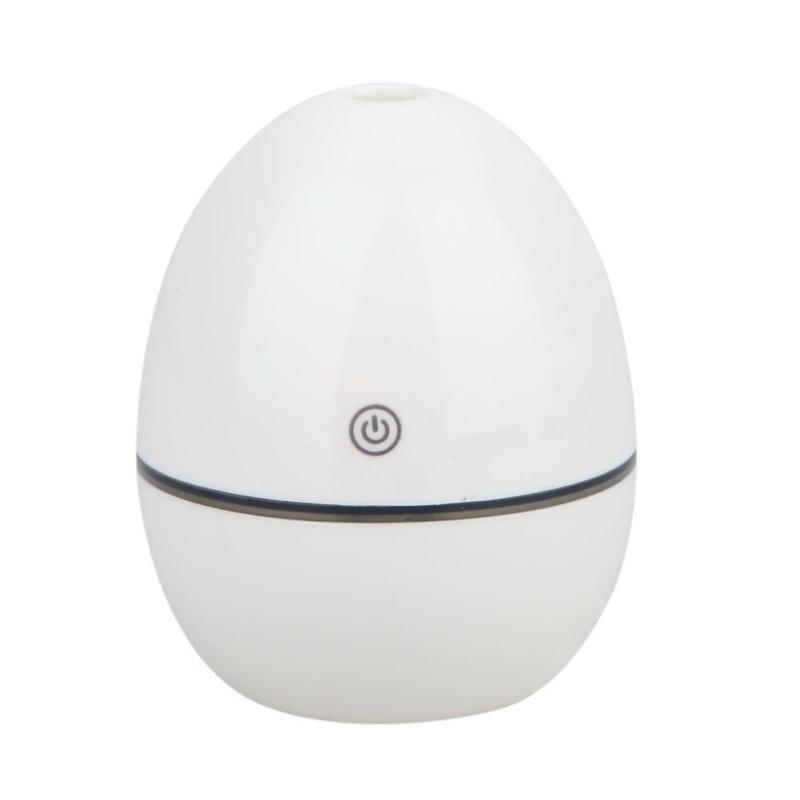 Mini Aromatherapy Portable Bottle Cap Air Ultrasonic Humidifier (White) - intl Singapore