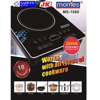Harga MORRIES 2000W CERAMIC INFRARED COOKER MS1888CIC