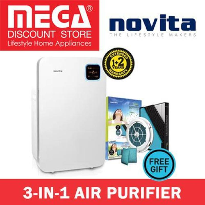 Novita NAP001H 3-In-1 Air Purifier / Free Filter Pack Singapore