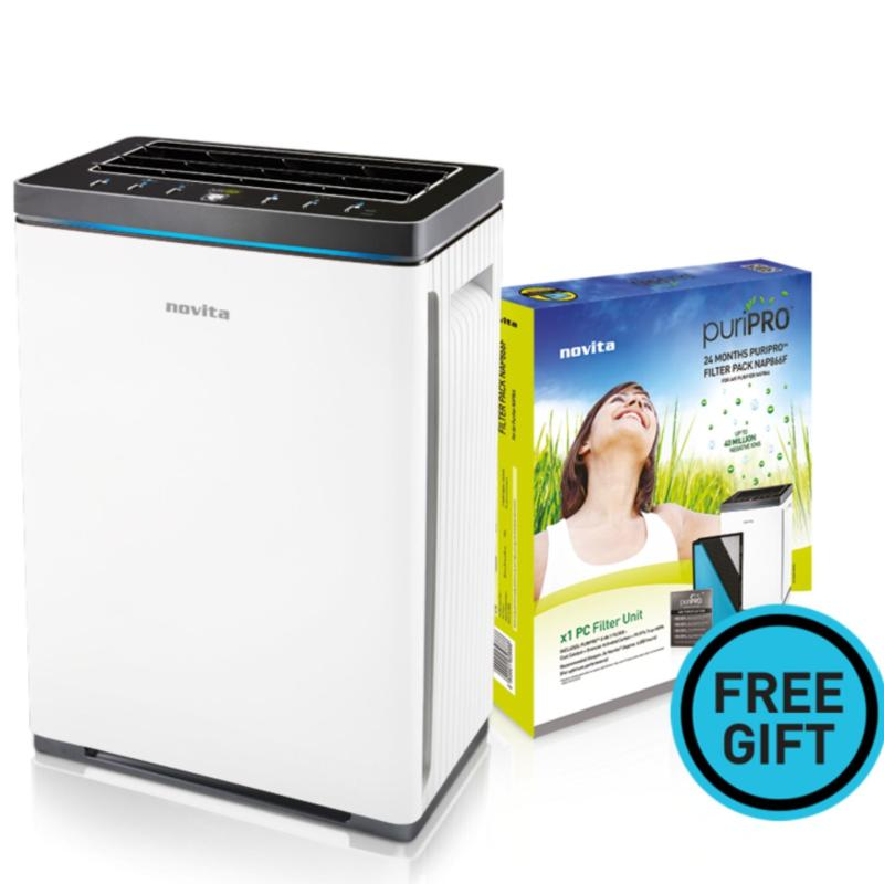 novita PuriClean™ Air Purifier NAP866 + FOC Filter Pack Singapore