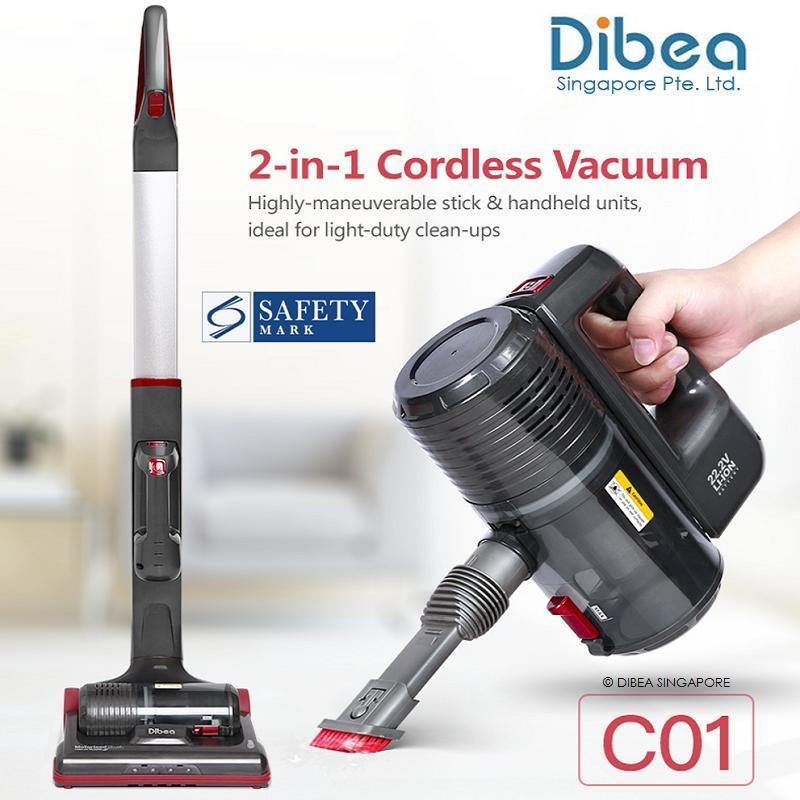 [Official Dibea Singapore] C01 Cordless Vacuum Cleaner Singapore