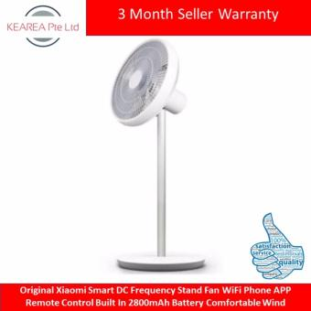 Original Xiaomi Smart DC Frequency Stand Fan WiFi Phone APP RemoteControl Built In 2800mAh Battery Comfortable Wind