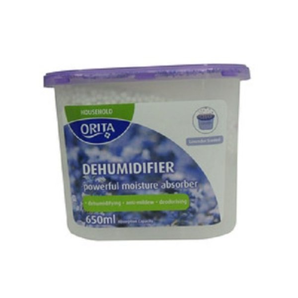 Orita Lavender Dehumidifier (650ml X 3) Singapore