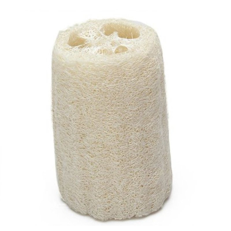 Buy Portable Natural Loofah Luffa Bath Body Shower Sponge Scrubber (EXPORT) Singapore