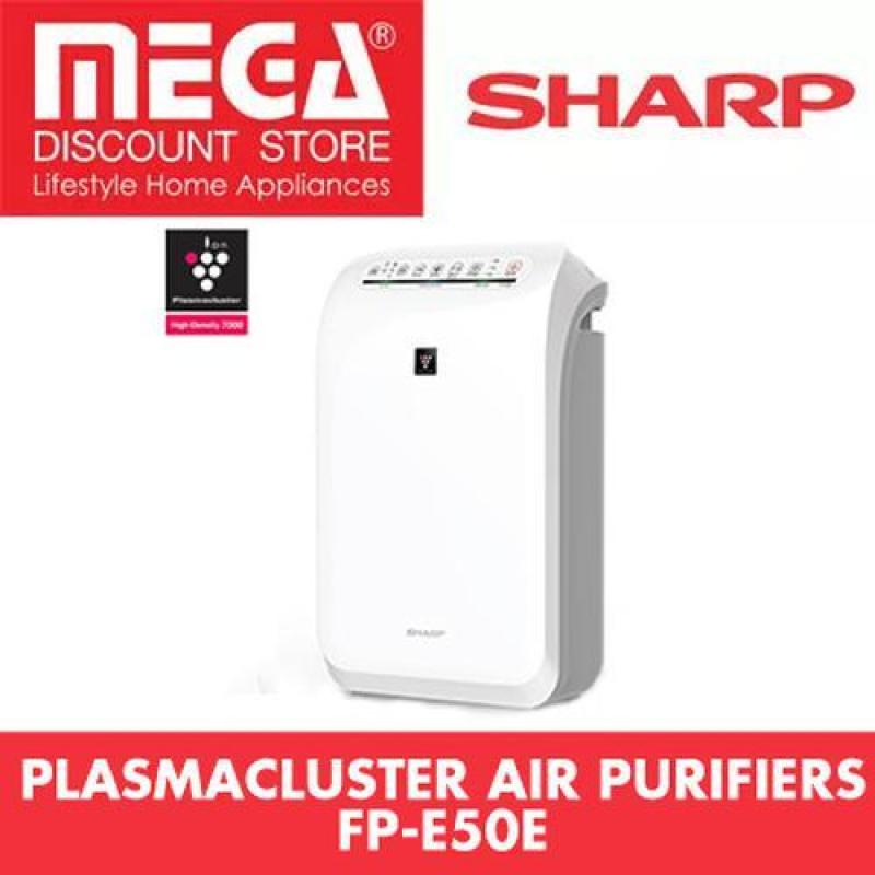 Sharp Fp-E50E-W Plasmacluster Air Purifier With Hepa Filter And Haze Mode Singapore