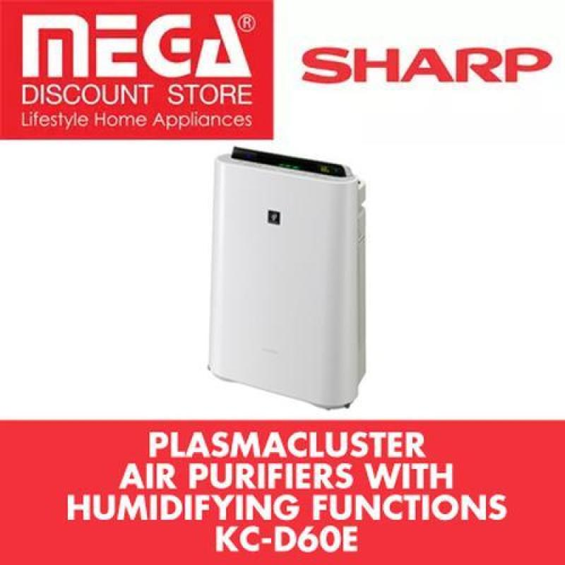 Sharp Kc-D60E Air Purifier + Humidifier With Hepa Filter And Haze Mode Singapore