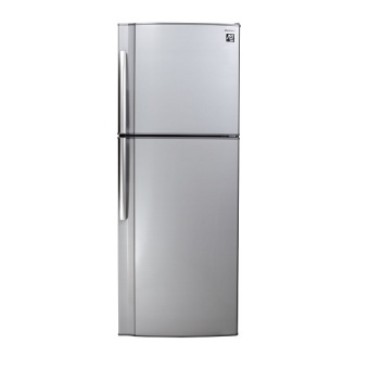 Harga Sharp SJ-D26T Two Door Refrigerator Silver