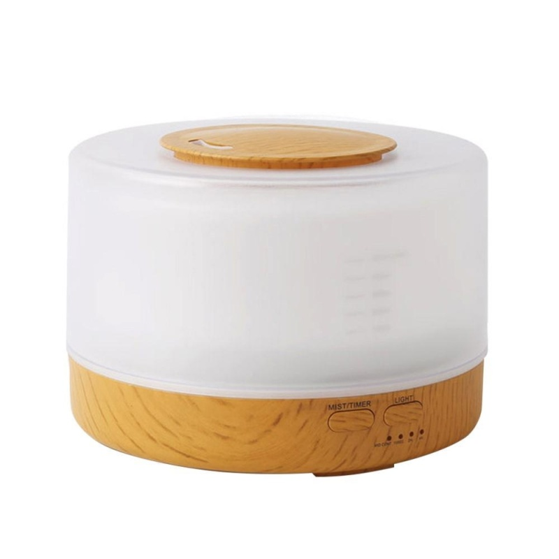 svoovs Cool Mist Humidifier Home Fragrance Diffuser 2-in-1, Classical Style With 7 Colors Light Mode, Large Capacity Enough For 16 Hrs Working, Sleep Mode - intl Singapore