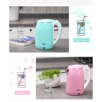 Whirlpool 2L Stainless Steel Electric Kettle with Keep Warm Function - Powder Pink - 3