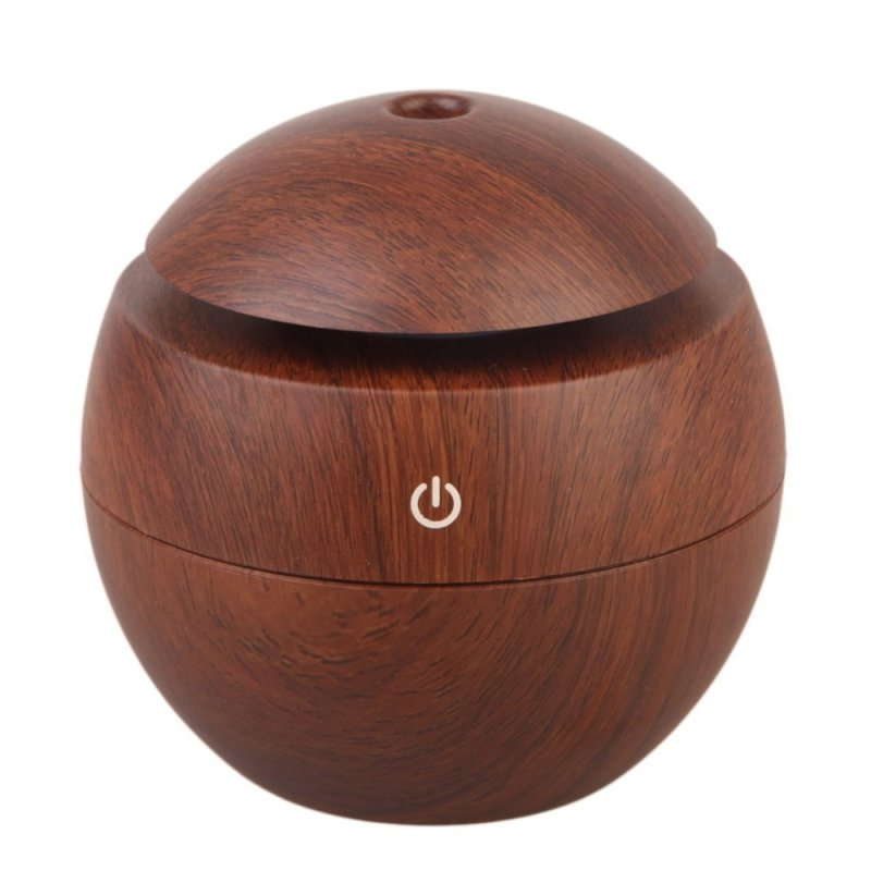 Wooden USB Ultrasonic Humidifier Air Purifier(Coffee) (EXPORT) Singapore