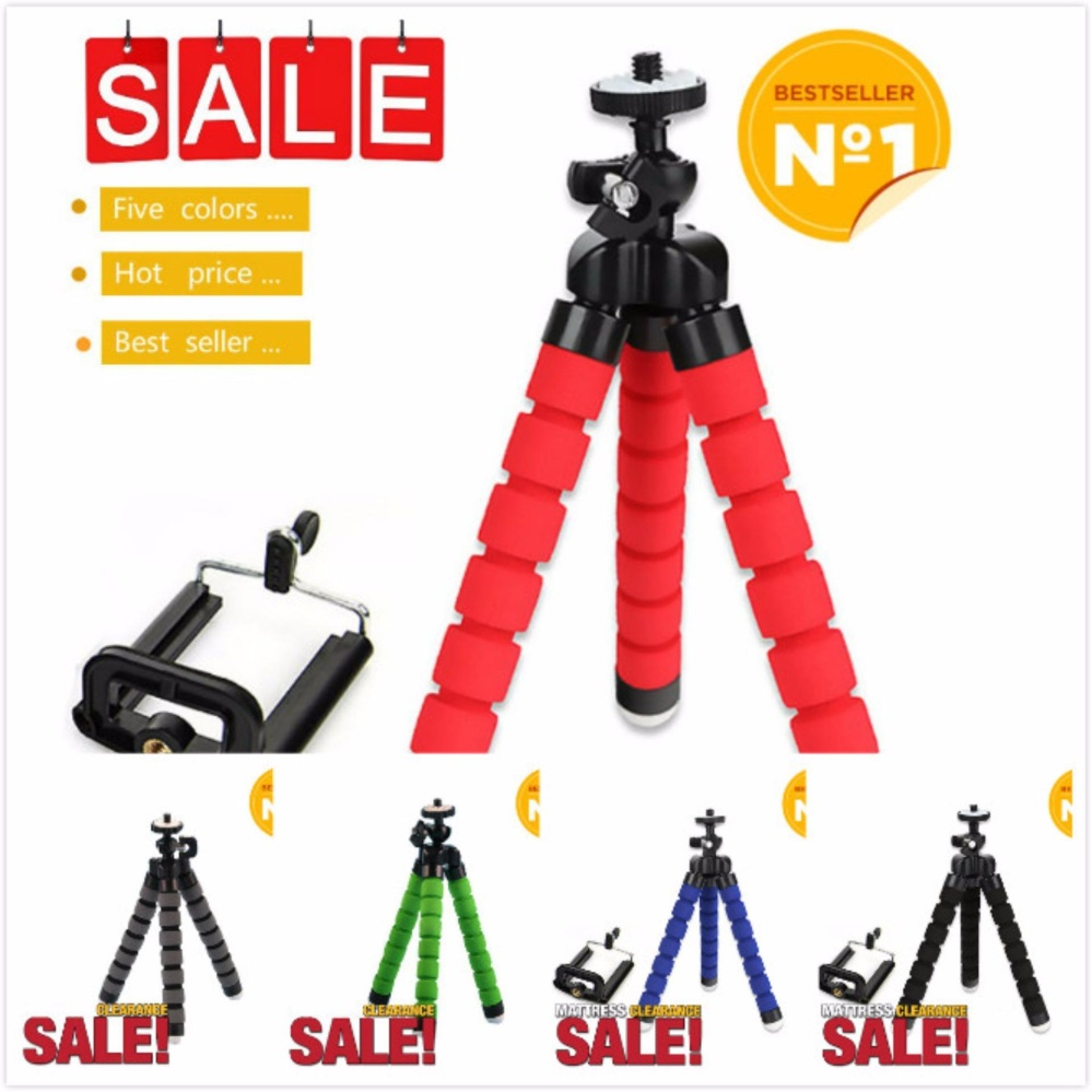 150 x 35 x 35mm High Quality Octopus Tripod Holder for Mobile Phone (Blue)