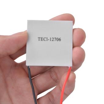 1x TEC1-12706 Heatsink Thermoelectric Cooler Peltier Plate Module 12V 60W TE609 - intl Singapore