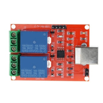 2 Channel 5V USB Relay Programmable Computer Control Relay forSmart Home - intl - 4