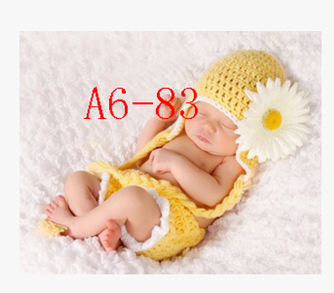 2014 baby children shoot photography clothes studio childrenChildren photography clothing's a hundred days clothing accessoriespure handmade hair line knitted clothes's