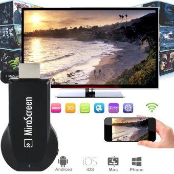 2017 MiraScreen OTA TV Stick Dongle TOP 1 Chromecast Wi-Fi Display Receiver DLNA Airplay Miracast Airmirroring - intl