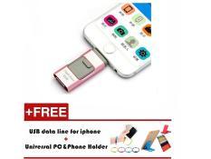 256GB i-Easy Drive Smart phone U Disk/3 in 1 Otg Usb Flash